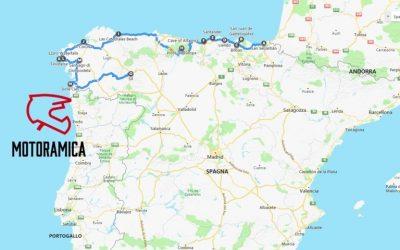 Portogallo Spagna Cartina.Portogallo In Moto Itinerario Guida Viaggio Motoramica